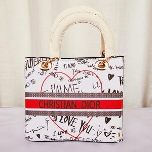 Dior Ladies Stylish Hand Bag Multi Color QB00200