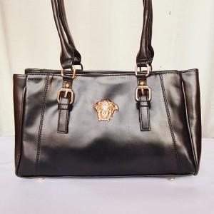 Versace Ladies Hand Bag Black Color QB00207