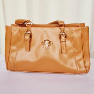 Versace Ladies Hand Bag Brown Color QB00208