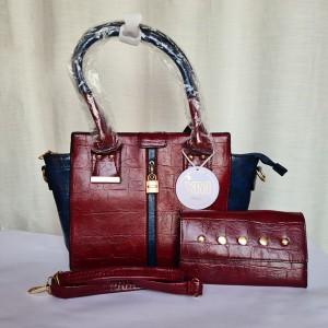 Ladies Hand Bag 2 Piece QB00214