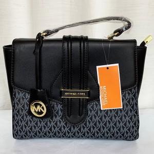 Michael Kors Ladies Hand Bag 3 Piece Branded Bag With Leather Stripe QB00299