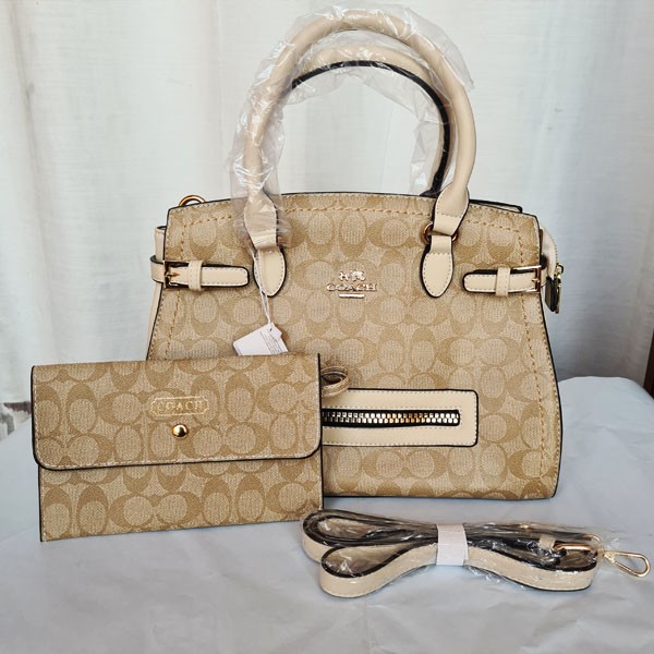 COACH Ladies Hand Bag 2 Piece QB00228