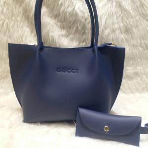 Gucci Ladies Bag 2 Piece Blue Color QB00103