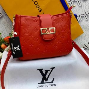 LV Ladies Bag Red Color QB00129