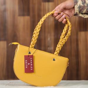 Charles & Keith Ladies Bag Yellow Color QB00133