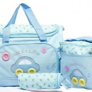 Baby Bag 3 Piece Blue Color QB00122