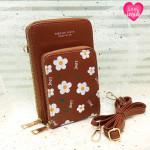 Handy Purse For Female Brown Color QB00141