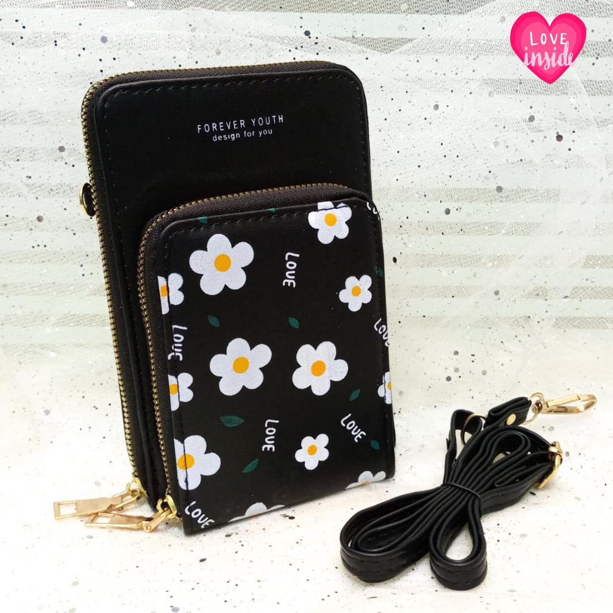 Handy Purse For Female Black Color QB00140