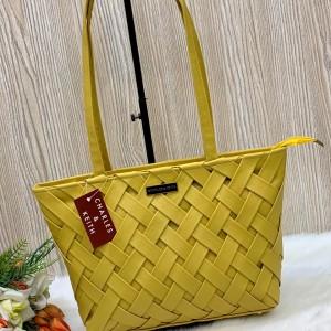Charles & Keith Ladies Hand Bag Yellow Color QB00305