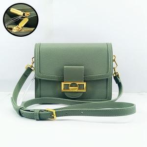 Charles & Keich Ladies Shoulder Bag With Leather Stripe QB00373