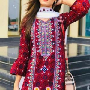 Afrozeh Vol'21 Ladies Suit Summer Collection Code QS00147