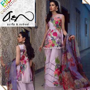 Asifa & Nabeel Ladies Suit Hit Code QS00154