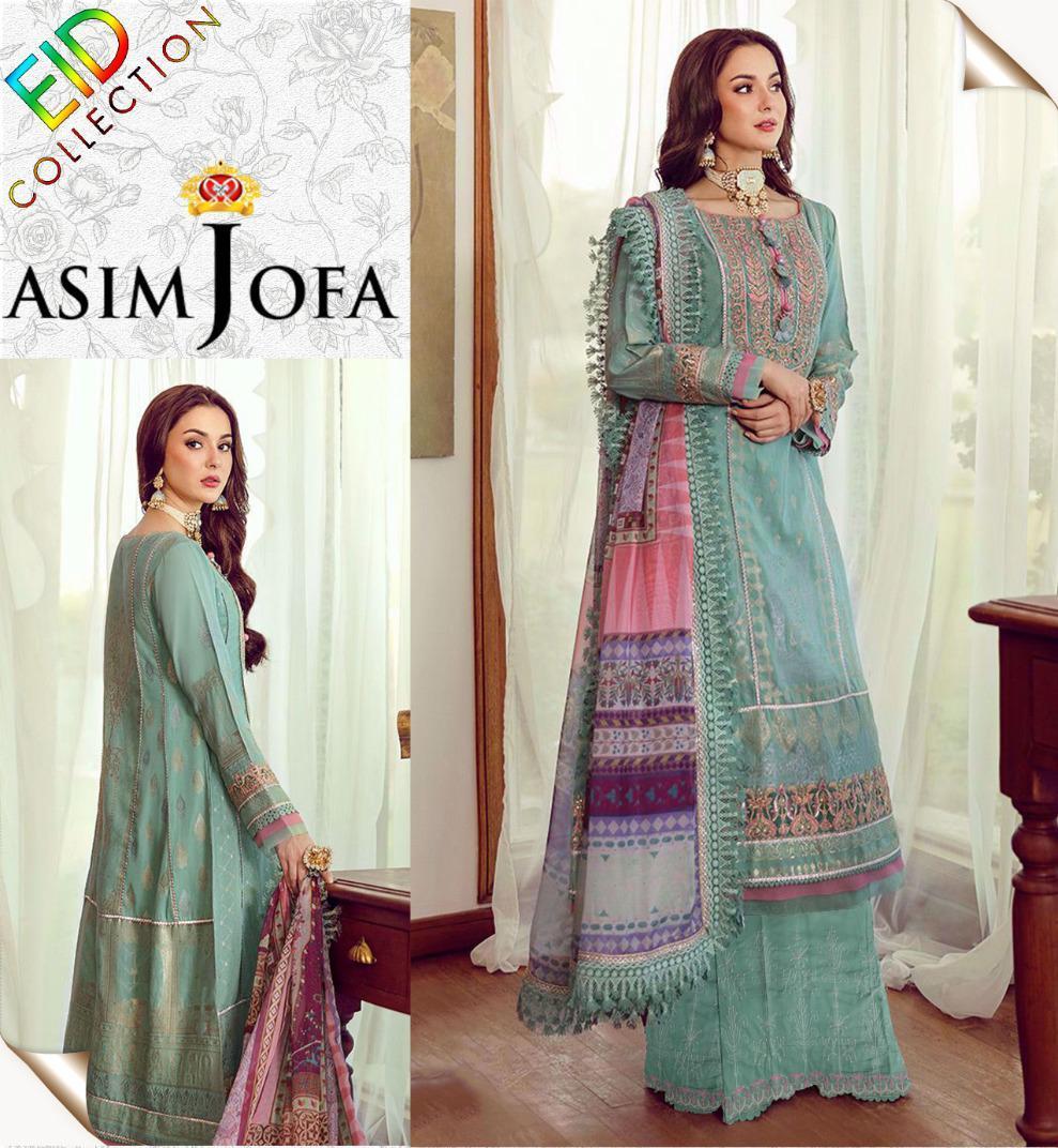 Asim jofa Ladies Suit Eid collection Hit Code QS00163