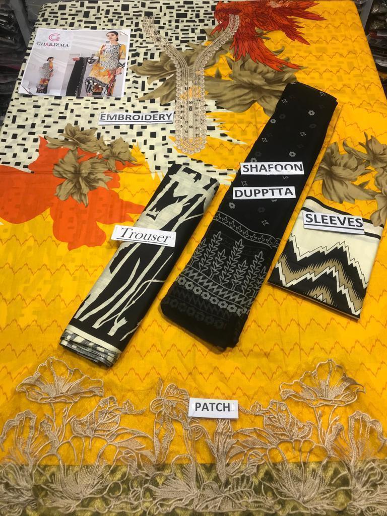 Chrizma Ladies Suit Eid Collection Hit Code QS00187