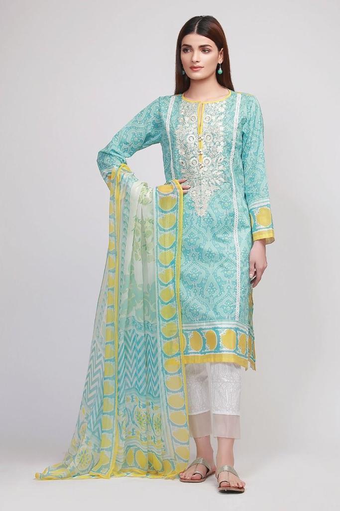 Khaadi D-1003 Embroidered Ladies Suit QS00127