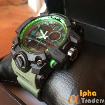 G-Shock 5478 Men Analog Watch Online Green Band