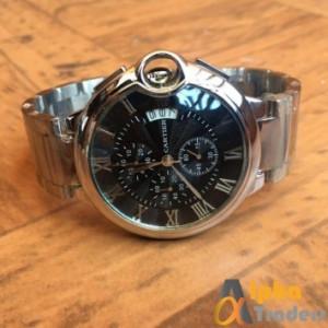 Cartier 4010 Watch Chronograph Balloon Shape Chain