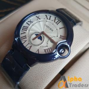 Cartier 3835 watch Blue chain strap Men watch
