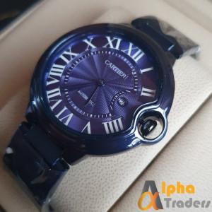 Cartier 3835 watch Blue chain strap watch