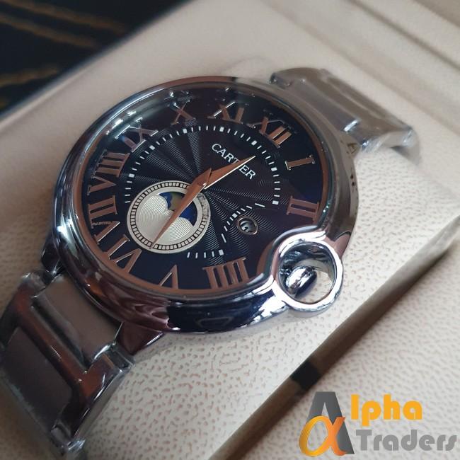 Cartier 3835 watch Silver chain strap watch