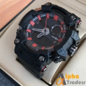 Exponi Ep 3277 Watch Rubber Strap Analog Digital Sports Watch