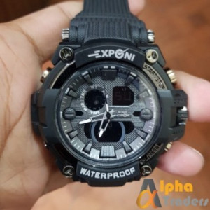 Exponi EP 3261 Watch Analog & Digital Rubber Strap Sports Watch