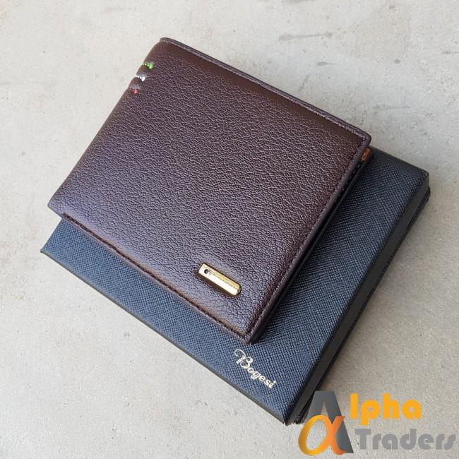 Bogesi WL150 Original Leather Wallet Red