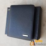 Original WL154 Bogesi Leather Wallet Black Plain