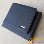 Bogesi WL117 Black Book Leather Wallet