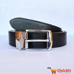 Original BT106 Leather Belt Dual Side Buckle