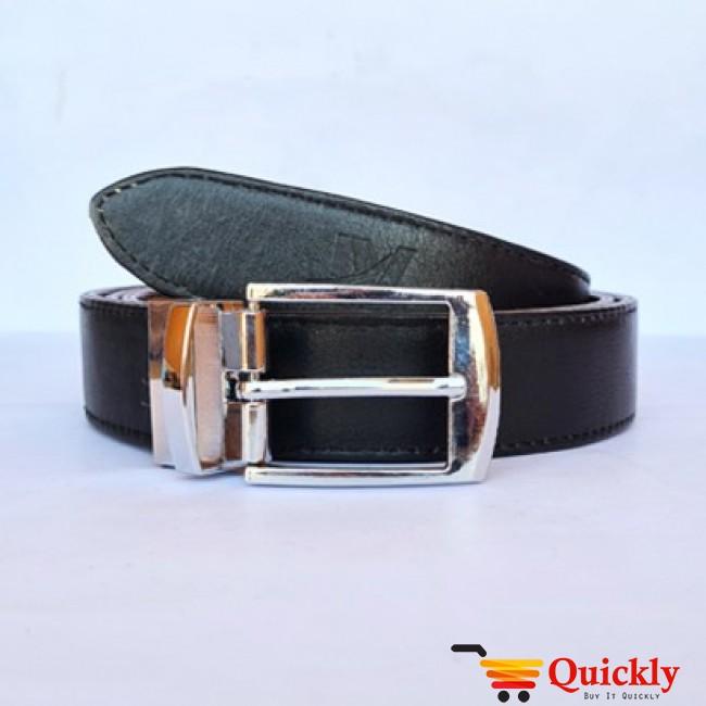 Original BT106 Leather Belt Dual Side Buckle