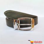 Original BT111 Leather Belt Dual Side Buckle