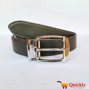 Original BT111 Leather Belt Dual Side Buckle