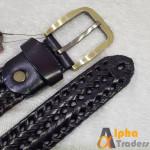 Original BT117 Leather Belt for Jeans