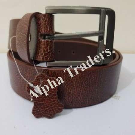 Export BT102 Quality Brown Leather Belt