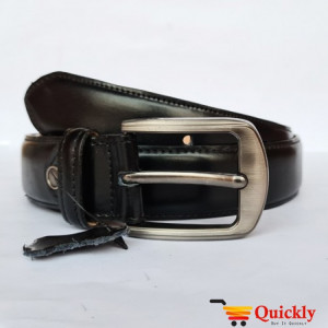 Export BT103 Quality Black Leather Belt