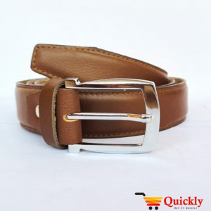 Export BT105 Quality Plain Brown Leather Belt