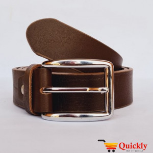 Export BT106 Quality Brown Crocodile Leather Belt