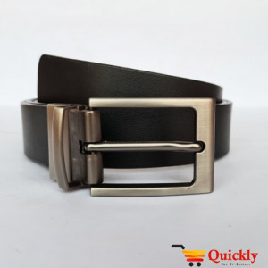 Kaiwenyan BT108 Black China Leather Belt