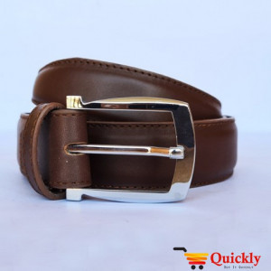 Kaiwenyan BT109 Dark Brown China Leather Belt