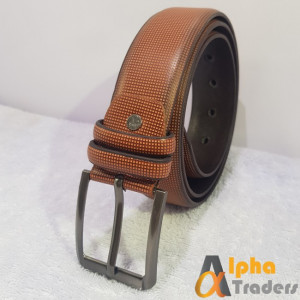 Genuine BT114 Leather Brown Imported Belt