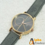 CK Watch 9046 Leather Strap With Date