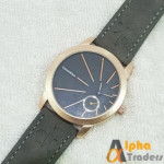 CK Watch 0861B Leather Strap Master Lock Watch