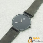 CK 7001 Watch Leather Strap Stylish Wrist Watch