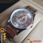 Universal Point Men Original Silver Watch