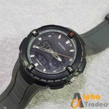 Diesel Watch Analog & Digital Sports Watch