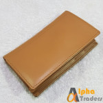Original WL159 Leather Book Wallet Cards Option Mustard