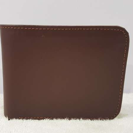 Genuine WL163 Leather Brown Wallet