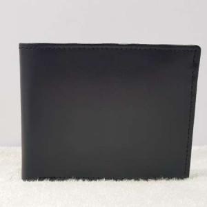 Black WL107 Export Quality Genuine Leather Wallet