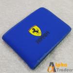 Ferrari AT119 Leather Wallet Blue Color